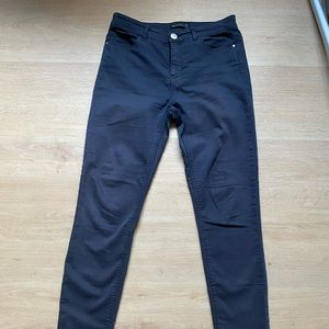Glassons Navy Skinny Jeans Size 10
